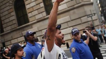 Maced Wall Street protester speaks out
