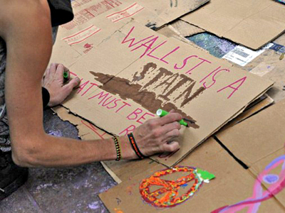 Occupy Wall Street – is mass civil disobedience the only way?