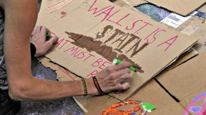 Occupy Wall Street: Big banks do nothing but big bangs