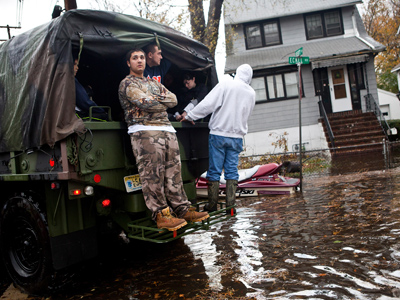 After Sandy, Bloomberg refused National Guard's help because they have guns