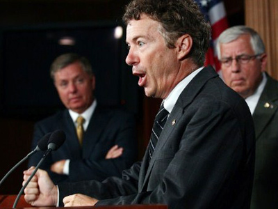 Rand Paul detained by TSA