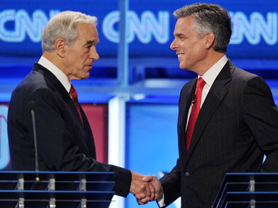Huntsman drops out of GOP race; Ron Paul surges in South Carolina