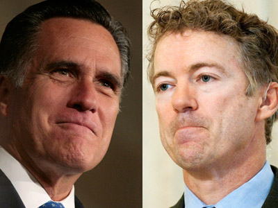 Sen. Rand Paul endorses Romney in 2012 race