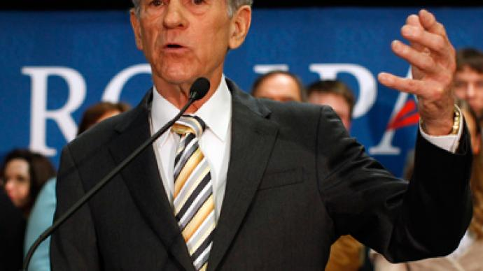 Ron Paul wants an end to the War on Drugs