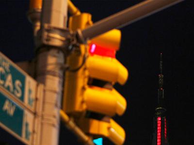 Warning sign: Police dodge fines for running red lights
