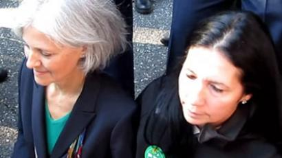 Green Party presidential candidate Jill Stein arrested in Texas