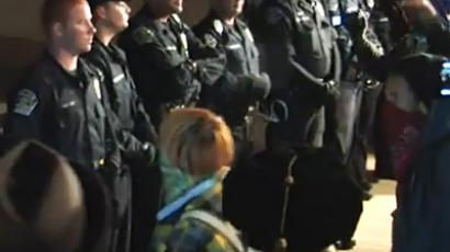 Lurking within tent: Undercover cops in Occupy LA camp prior to raid