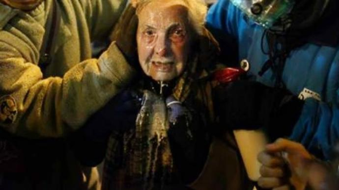 Elderly and pregnant attacked at OWS (PHOTO, VIDEO)