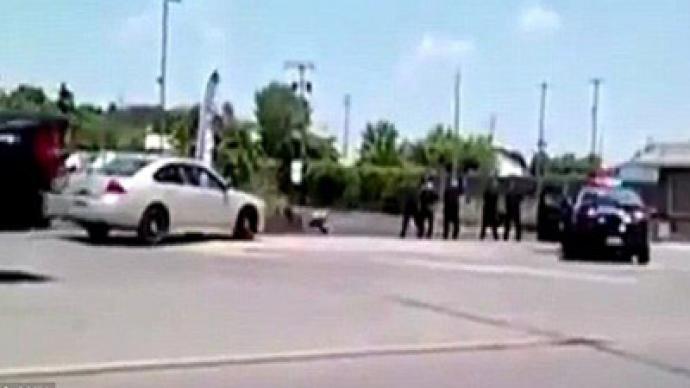 Police shoot homeless man 46 times