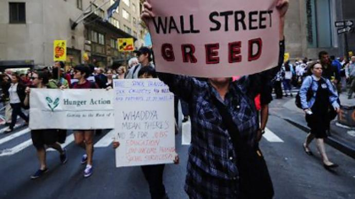 Poll: Government too weak on Wall Street