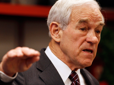 Ron Paul's support peaks on the eve of Iowa caucus