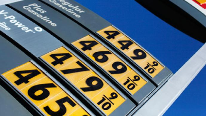 Fear of war drives gas prices up