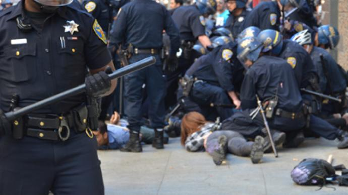Dozens arrested at San Francisco protest (PHOTOS)
