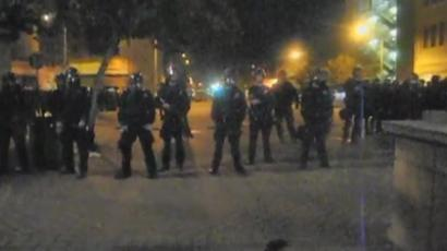 Occupy Portland: Dozens arrested as camps torn apart (VIDEO)