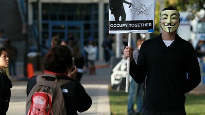 Protesters establish new Occupy camp at UC Davis