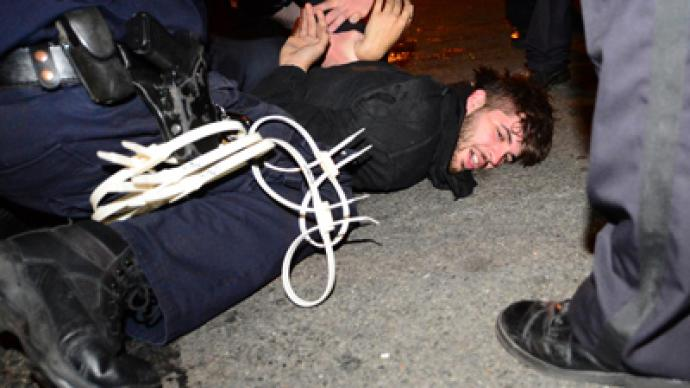 Violent arrests reported in NYC Quebec solidarity march