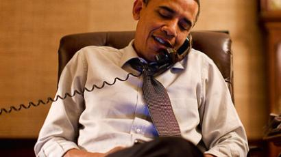 Medvedev, Obama discuss New START treaty ratification by phone