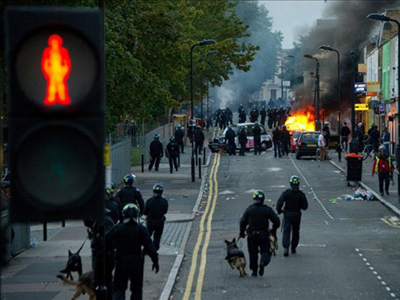America's response to London riots