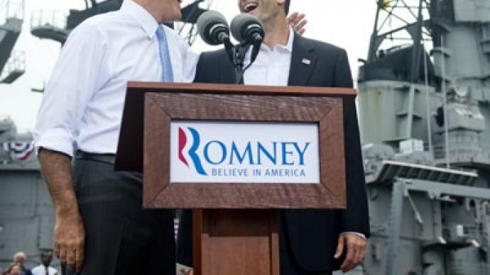 ­A selfless man? Romney introduces veep Ryan as 'next US president'