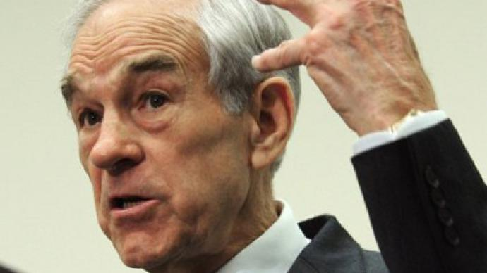 Ron Paul has a book, and it's not about politics