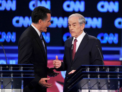 Ron Paul wins first caucus; mainstream media calls it for Romney