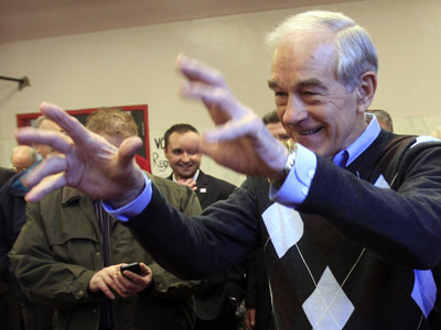 Ron Paul's plan: the only one that cuts debt, study shows