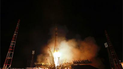 """Gagarin"" crew arrives at ISS to remember first man in space"