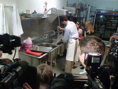 'Dishwashgate'? Ryan falls from frying pan to fire
