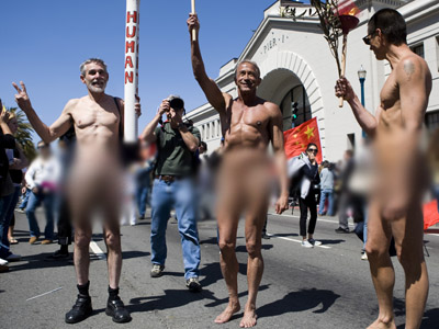 San Francisco outlaws nudity