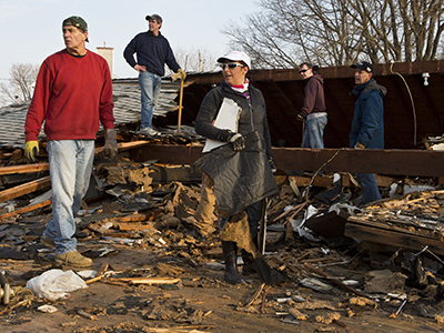 Thousands still homeless after Sandy