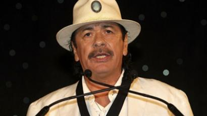 Carlos Santana reunited with drummer after finding out he was homeless for 40 years