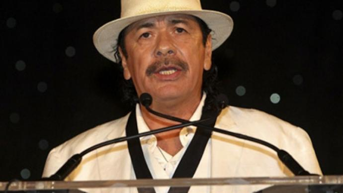 Santana chastises Georgia, Arizona over immigration laws