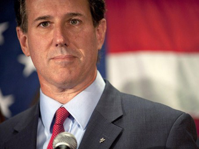 Santorum suspends presidential campaign