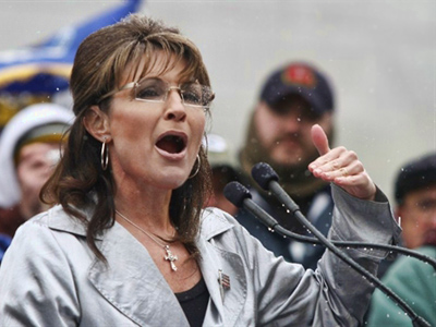 Palin fans stood up in Gettysburg