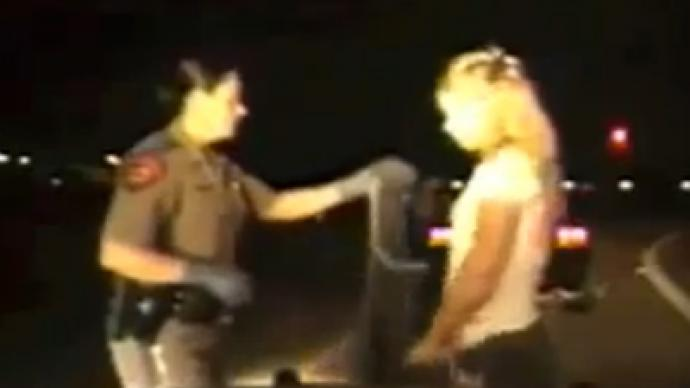 Second trooper suspended for roadside cavity search in Texas