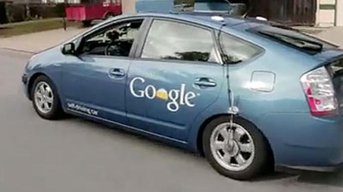 Self-driving 'robot' cars to take on California asphalt