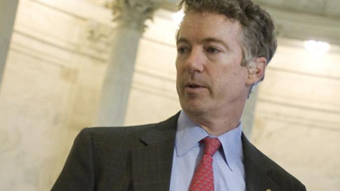 Senator Rand Paul asks supporters to help abolish the TSA