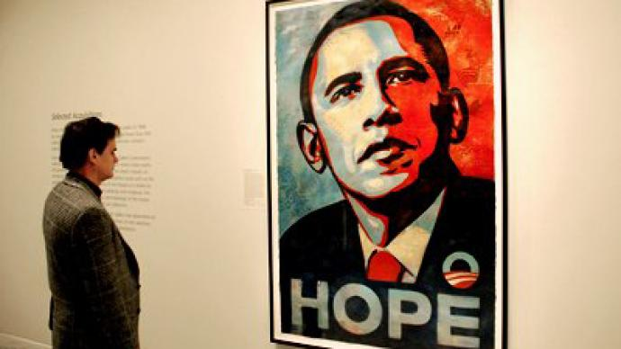 "Shepard Fairey faces prison over Obama ""Hope"" poster"