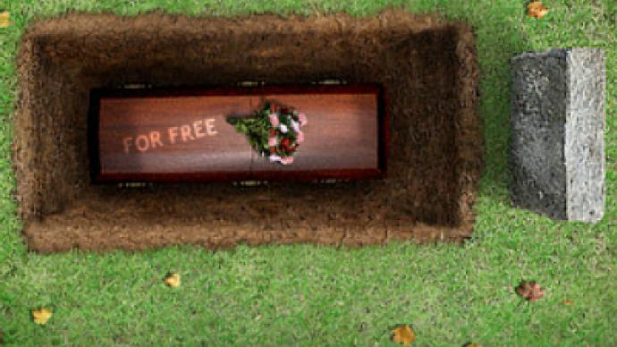 Special offer! Free burial for drunk drivers