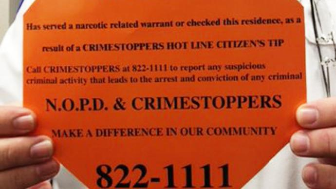 Cops to sticker New Orleans homes with a 'Scarlet Letter'