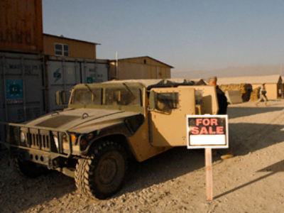 Stolen US Army equipment for sale in Iraq