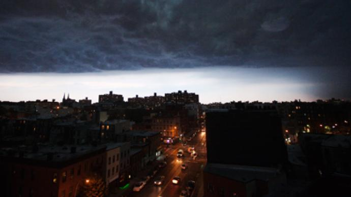 US East Coast storms: Grounded planes, ripped roofs, power cuts (PHOTOS)