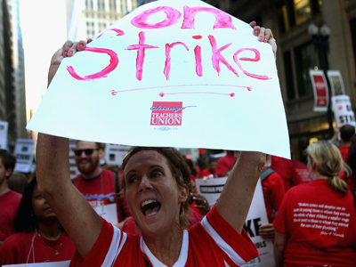Is Thursday the last day of the Chicago teachers strike?
