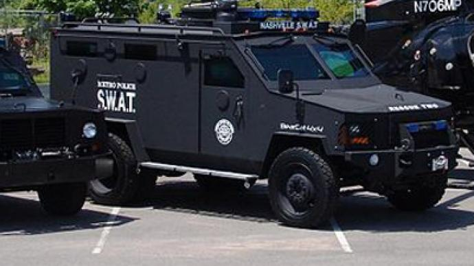 SWAT team fires semi-automatic weapons at unarmed teenage girl
