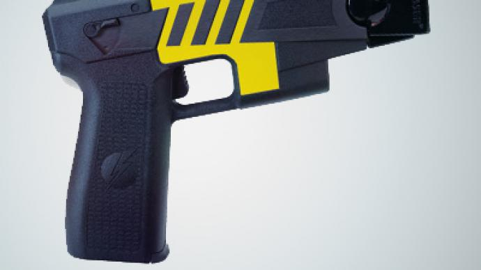 Cop sues Taser after riding the lighting