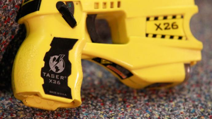 RT's apology to Taser International - the killer of 500 Americans, according to Amnesty International