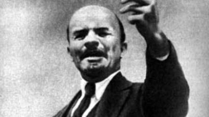 Lenin welcomes guests to different kind of utopia
