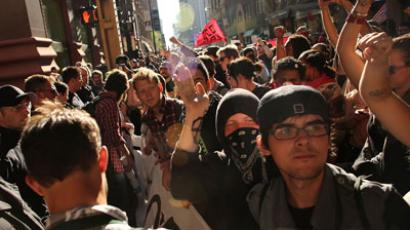 Occupy Portland protesters maced by police (VIDEO)