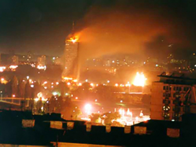 'NATO Bombed Kosovo to the Ground in 1999'