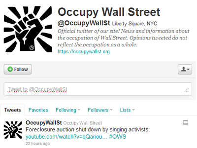 Twitter subpoenaed over OWS